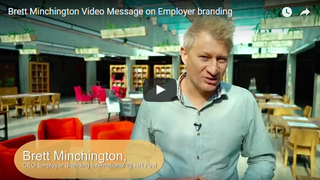Brett Minchington Video Message on Employer branding