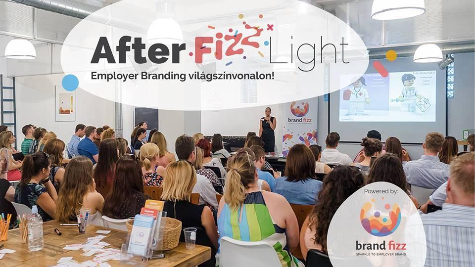 Afterfizz Light meetup – Employer branding világszínvonalon!