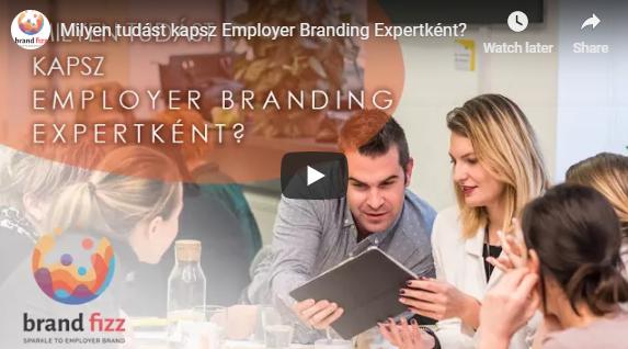 Milyen tudást kapsz Employer Branding Expertként a Brandfizz szakembereitől?