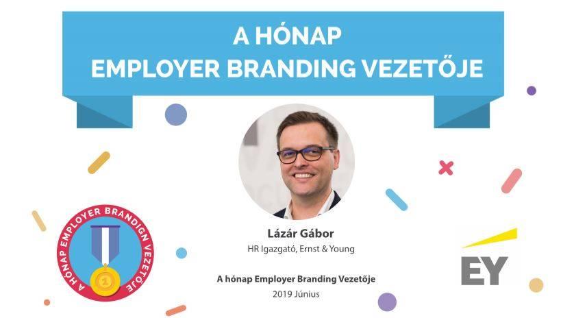 A hónap Employer Branding vezetője – Lázár Gábor