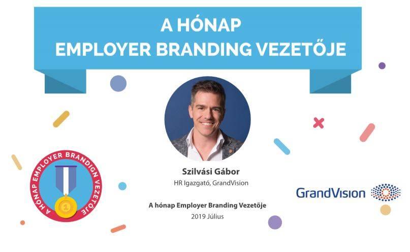 A hónap Employer Branding vezetője – Szilvási Gábor