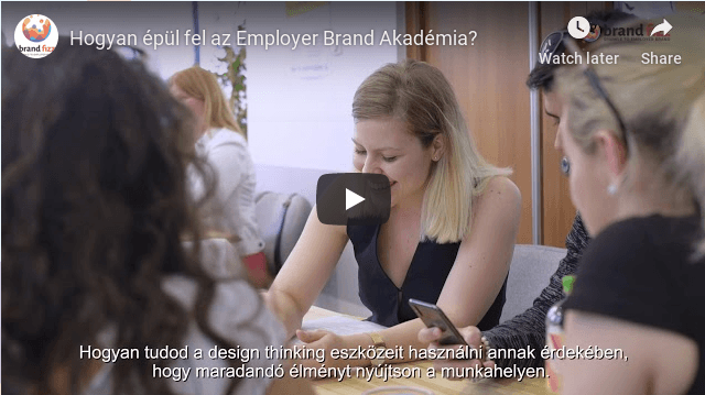 Hogyan épül fel az Employer Brand Akadémia?