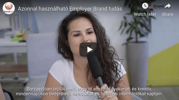 Azonnal használható Employer Brand tudás