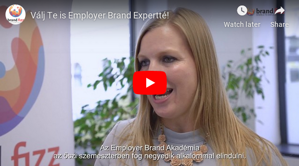 Válj Te is Employer Brand Expertté!