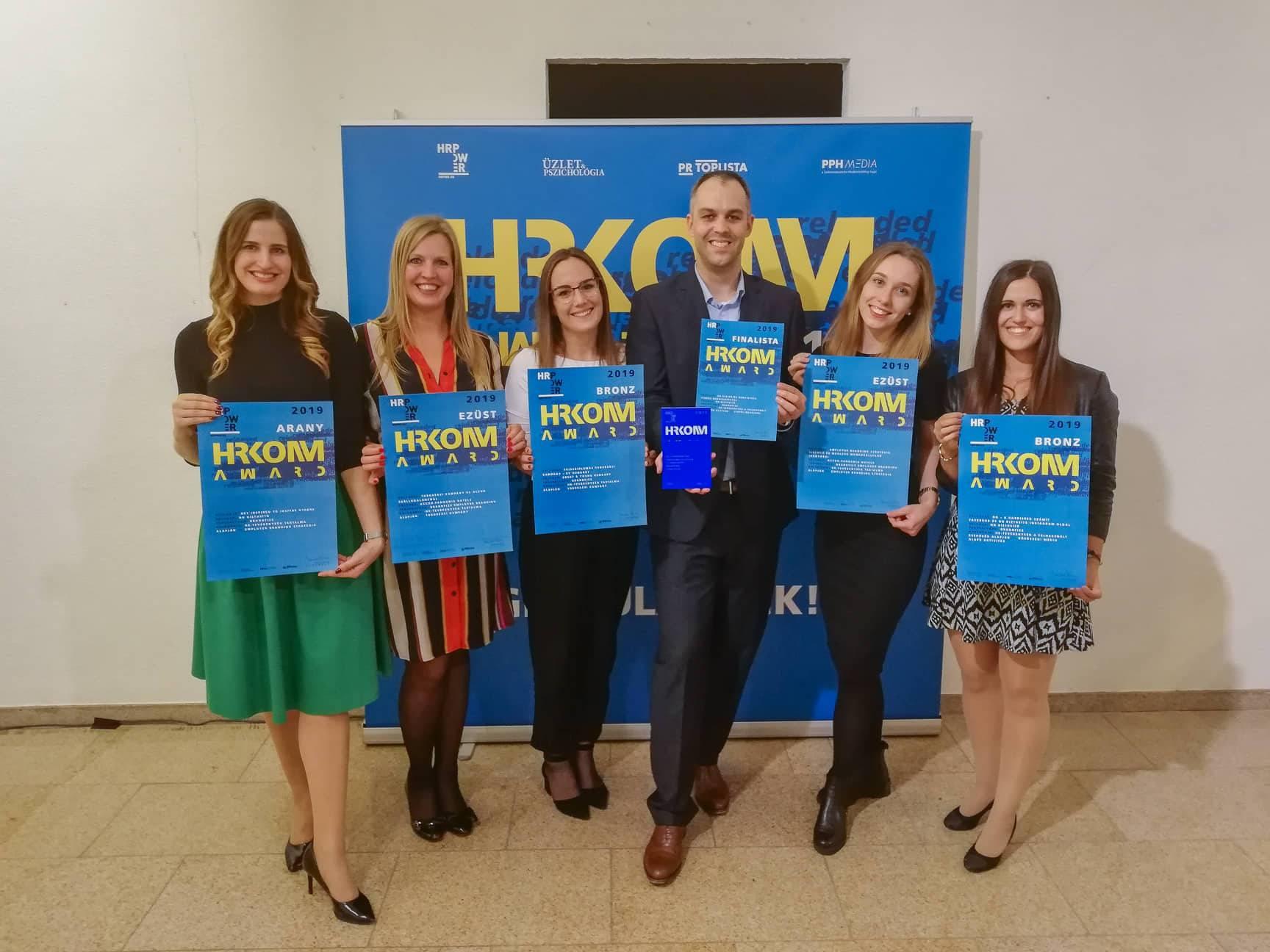 Öt díjat zsebelt be a Brandfizz a rangos HR szakmai díjátadón