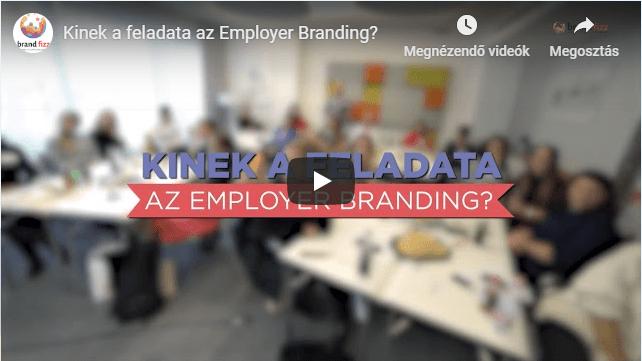 Kinek a feladata az Employer Branding?