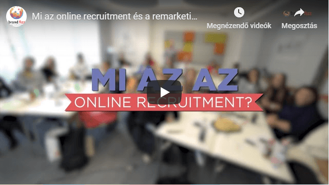 Mi az online recruitment?
