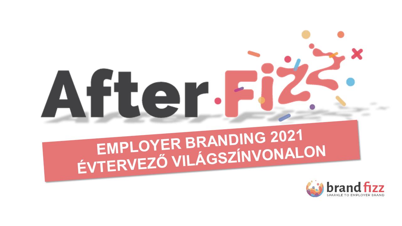Nézd meg újra az Afterfizz 2021-es employer branding évtervezőt!