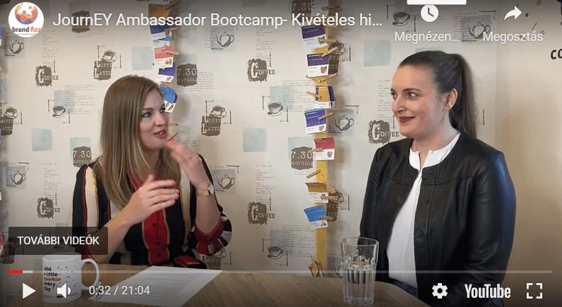 JournEY Ambassador Bootcamp – hibrid ambassador program